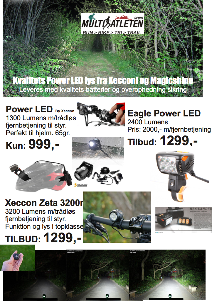 Power LED – lys til MTB