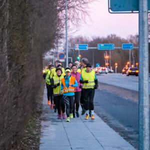 Et hyggeligt besøg: Løb med Avisen
