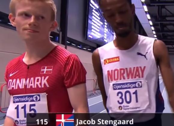 Se vores teamløber Jacob Stengaard løbe Nordenkampen
