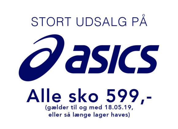 Alle Asics sko 599kr!!!!!